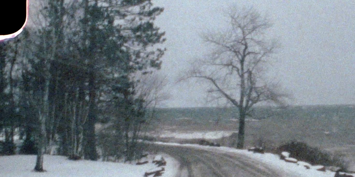 Stormy Lake Superior on 8mm Film